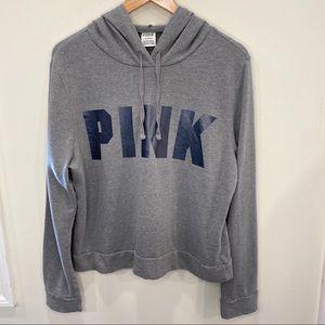 Victoria's Secret PINK gray hoodie sweatshirt